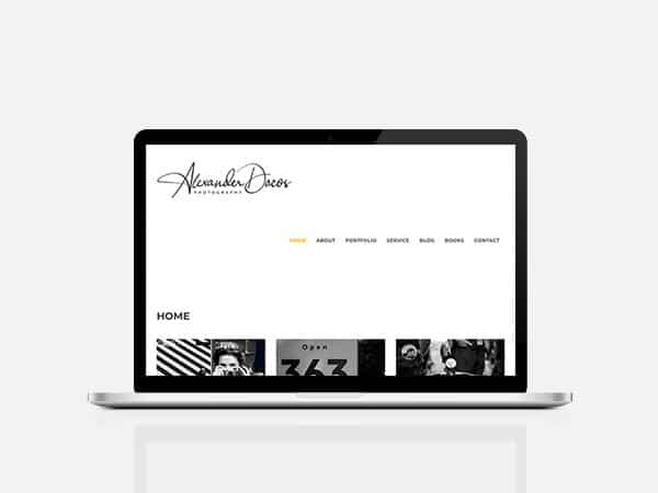 Alexander Dacos Website