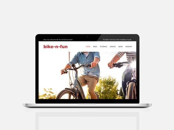 bike-n-fun Website