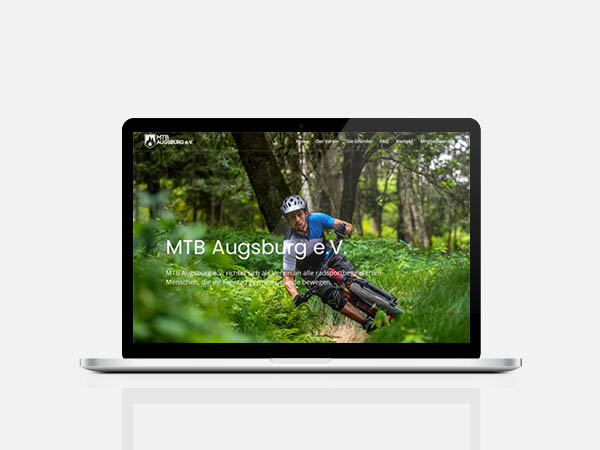 Webdesign, Wordpress MTB Augsburg e.V.
